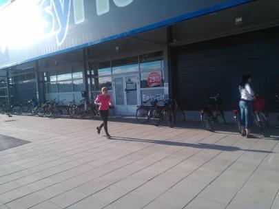 Juoksutreeniä