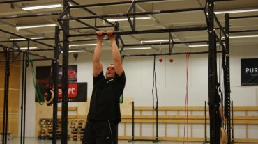 Narrow grip Pull-ups, nam!
